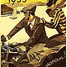 Vintage motorcycle...Zundapp 1933 advertising. by edsimoneit
