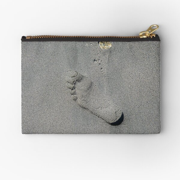 leave only footprints Zipper Pouch