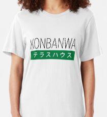 Konbanwa Slim Fit T-Shirt