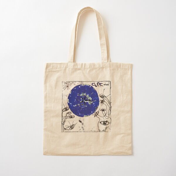 The Cure, Wish Cotton Tote Bag