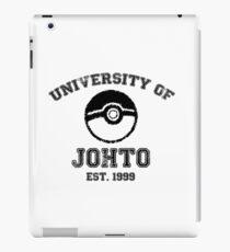 University of Johto iPad Case/Skin
