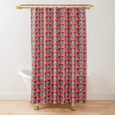 Gleeful American Black Bear Shower Curtain