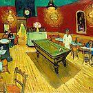 Le cafe de nuit (Das Nachtcafé) (1888) von Vincent van Gogh. von Igor Drondin