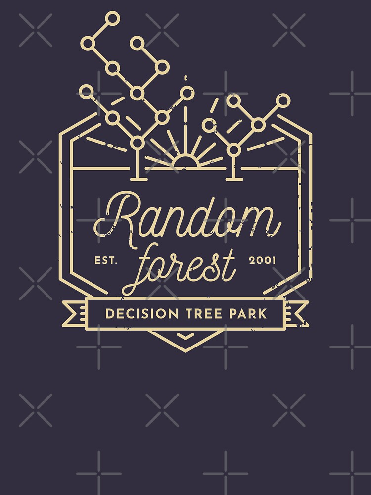 Random forest (Yellow lines) by visualizards