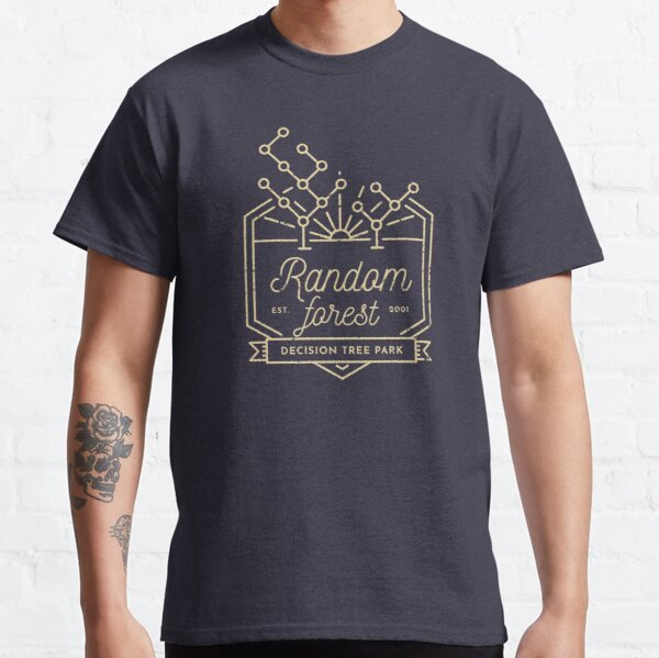 Random forest (Yellow lines) Classic T-Shirt
