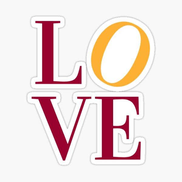 Ursinus College Love Statue Sticker