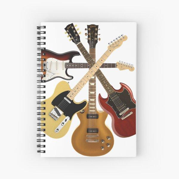 GUITAR GUITAR  Spiral Notebook