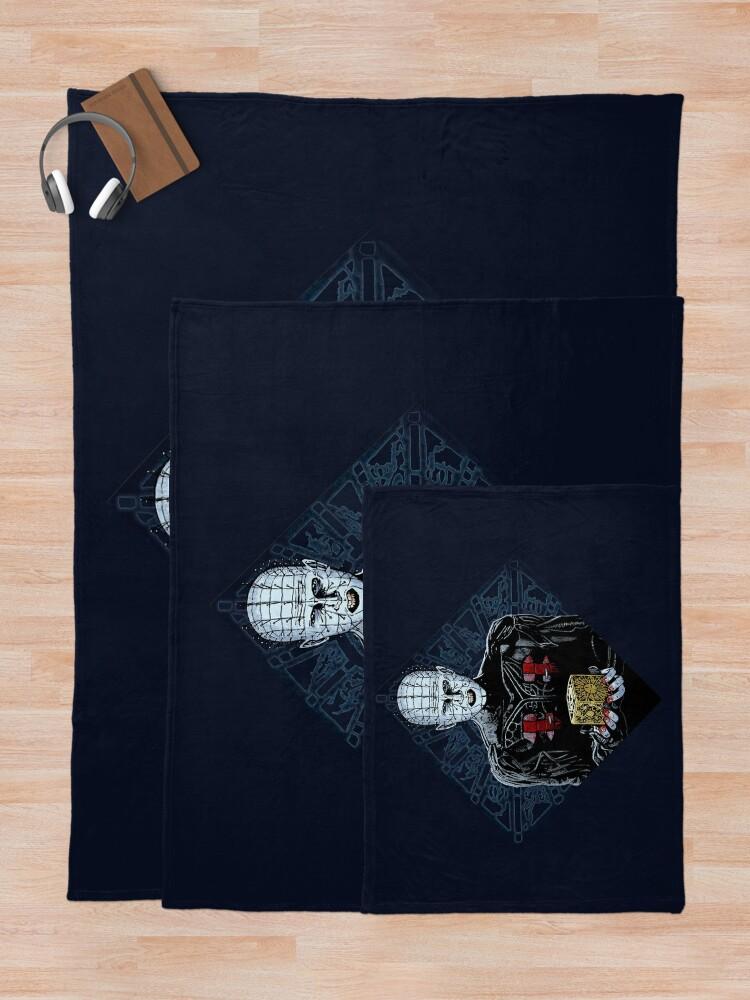 Alternate view of Hellraiser:  Pinhead Cenobite Throw Blanket