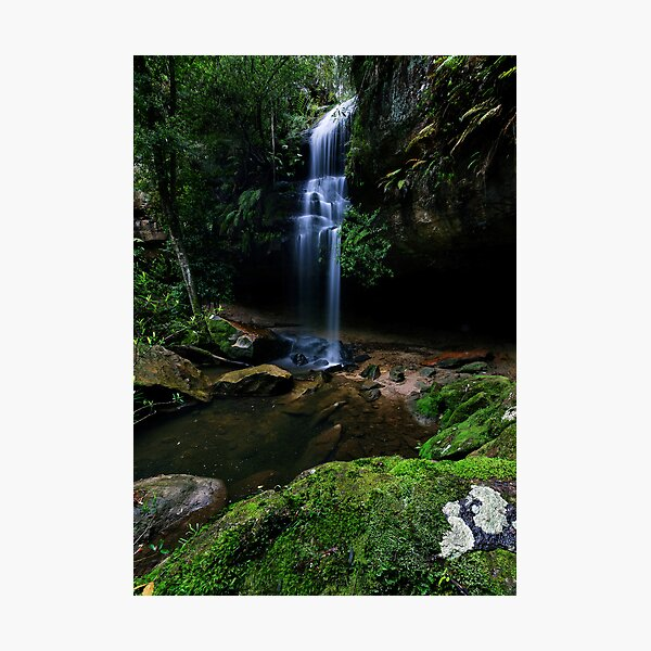 Cool Hazelbrook Drop Photographic Print