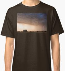 Lightning Striking On The Colorado Prairie Plains Classic T-Shirt