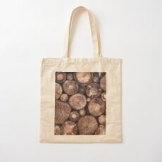 The Wood Holds Many Spirits Cotton Tote Bag