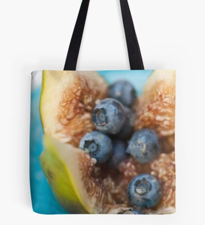 Fig and Blueberries Tote Bag