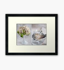 Cauliflower and cheese Framed Print