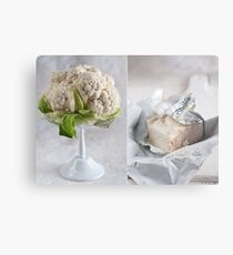 Cauliflower and cheese Metal Print