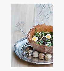 Bowl of Salad Photographic Print