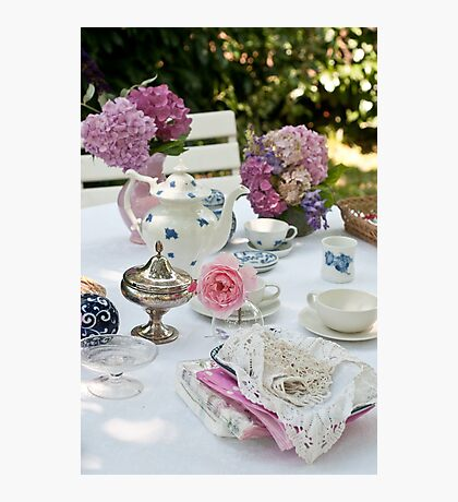 Tea Party Photographic Print