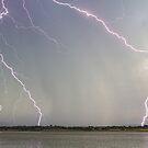 Positive Pink Lightning Strikes by Bo Insogna