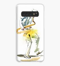 Saxophone Musician art Case/Skin for Samsung Galaxy