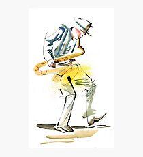 Saxophone Musician art Photographic Print