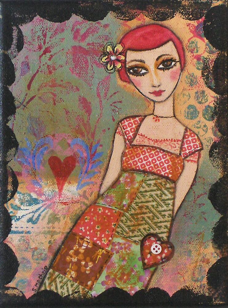 Patchwork dress by sue mochrie