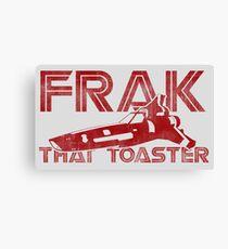 Frak That Toaster - Light Colors Canvas Print