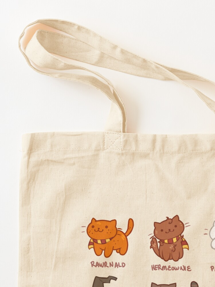Alternate view of Hairy Pawtter Tote Bag