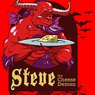 Steve the Cheese Demon by ghoststoryguys