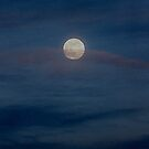 Chords of life..full moon in the clouds by jammingene