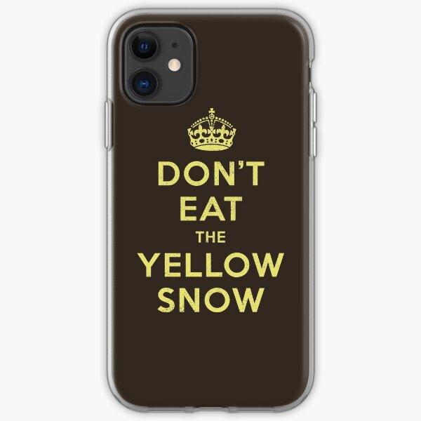 Yellow Snow iPhone Soft Case