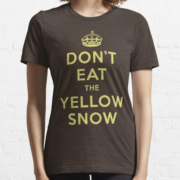 Yellow Snow Essential T-Shirt