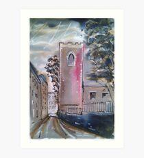 'Abandoned Church, Micklegate, York' Art Print