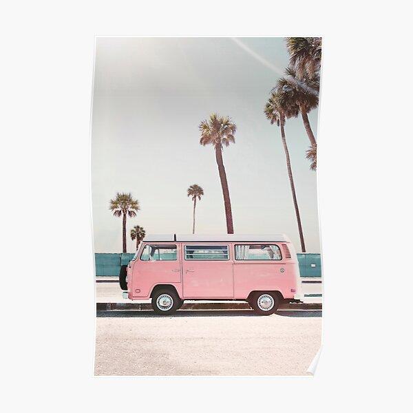 Pink Van Poster