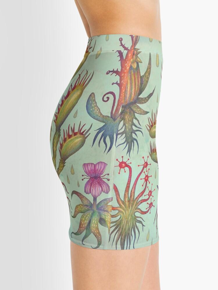 Alternate view of Carnivorous plants Mini Skirt