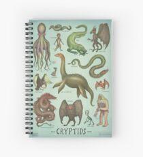 Cryptids Spiral Notebook