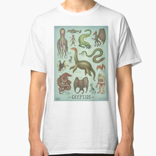 Cryptids - Cryptozoology species Classic T-Shirt