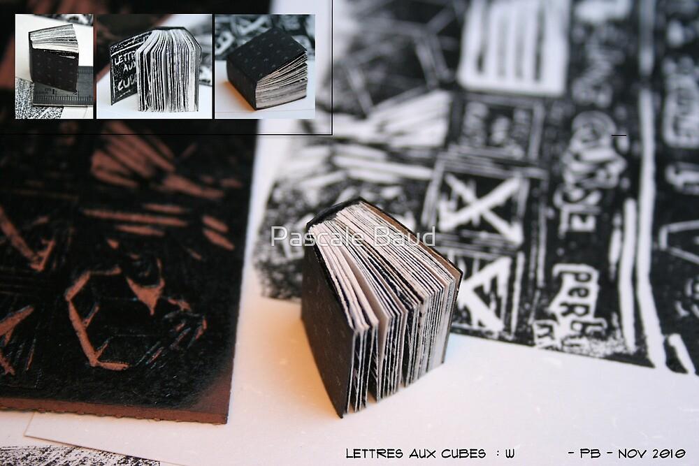 Lettres aux Cubes : W by Pascale Baud