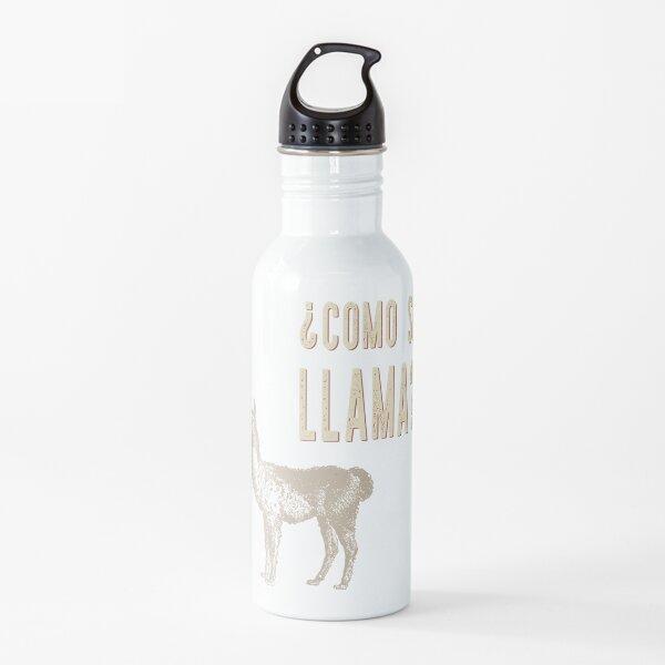 ¿Cómo se llama? Botella de agua