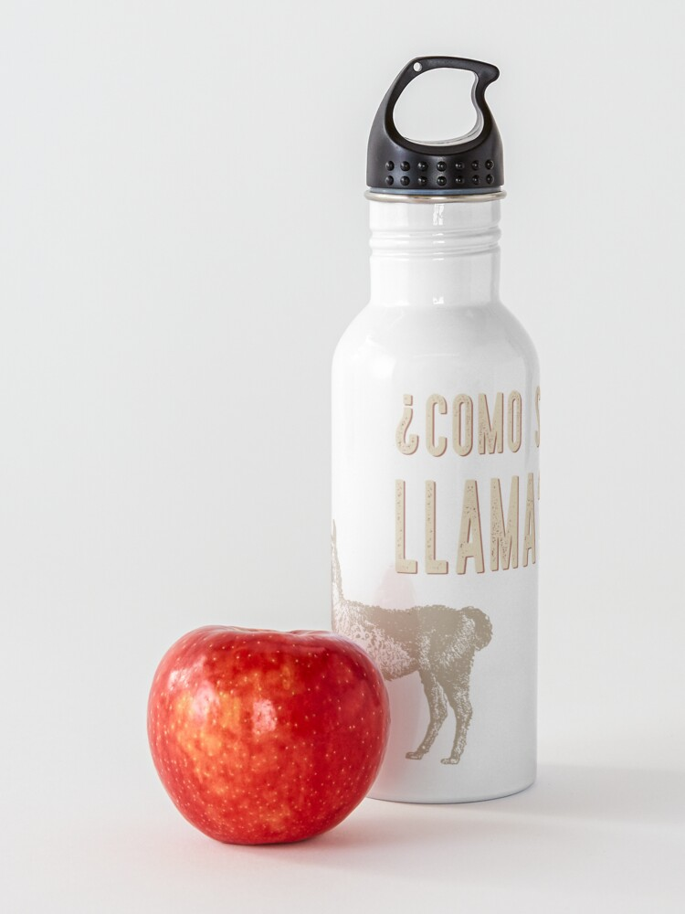 Alternate view of ¿Como Se Llama? Water Bottle