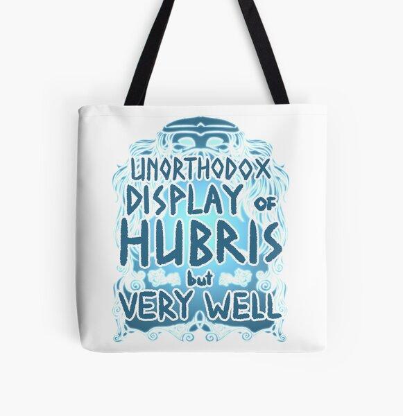 Hubris All Over Print Tote Bag