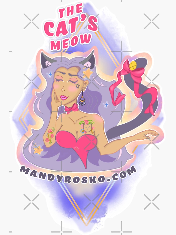 The Cat's Meow by MandyRosko