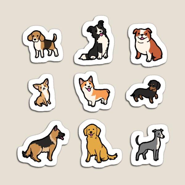 Dog Breeds #1 Magnet