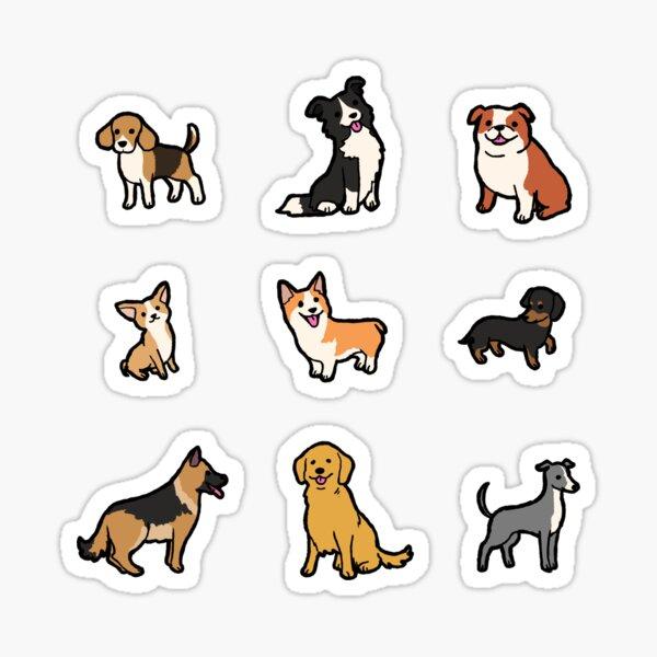 Razas de perros # 1 Pegatina