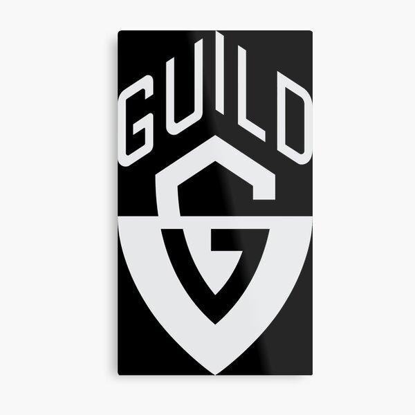 Guild Guitar Metal Print