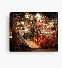 Aladdin Lamps Canvas Print