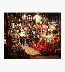 Aladdin Lamps Photographic Print