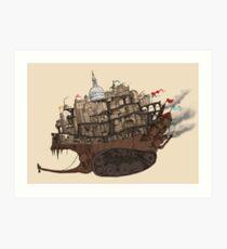 Mortal Engines: London Art Print