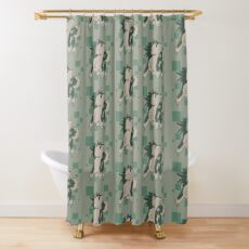 Epic Chibi Wolf Link Shower Curtain