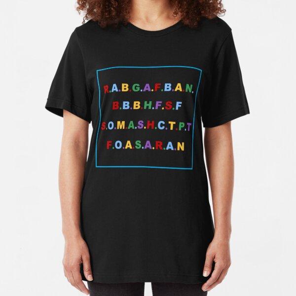RABGAFBAN Slim Fit T-Shirt