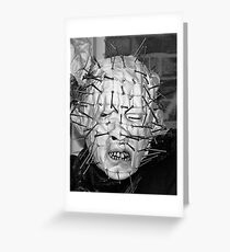 I Will Tear Your Soul Apart! Greeting Card