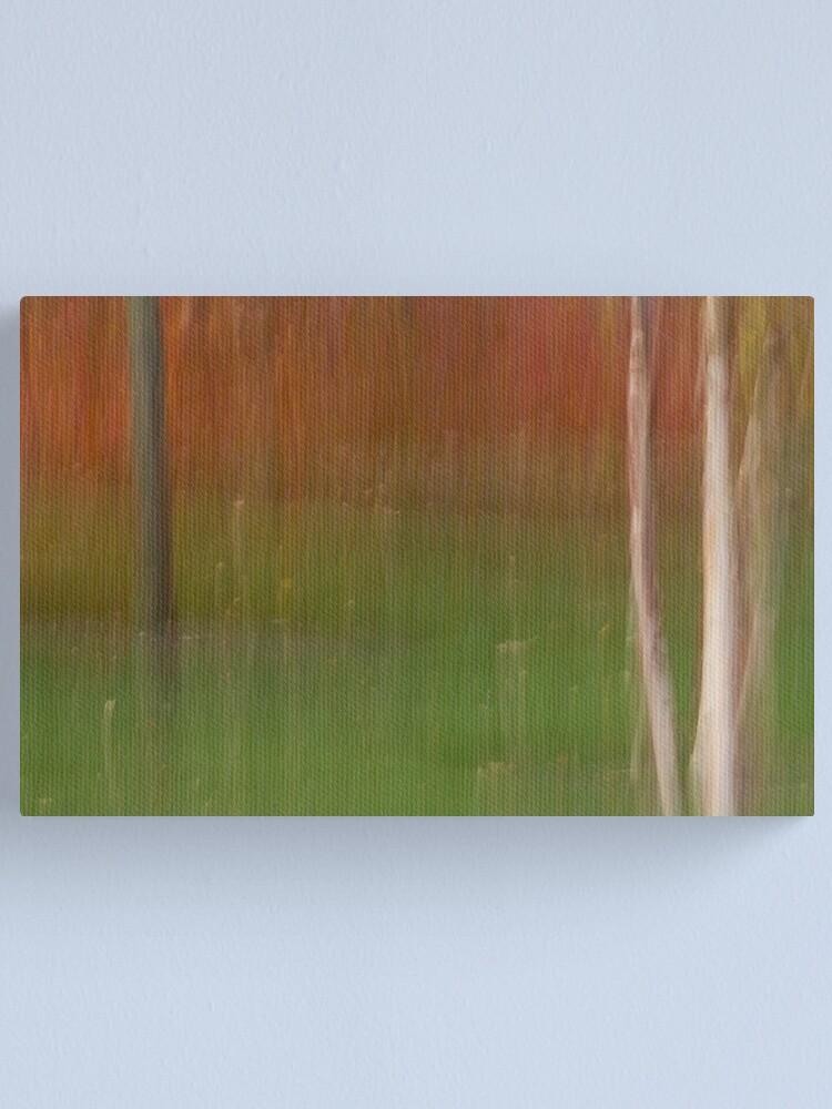 Alternate view of Autumn Saplings Canvas Print